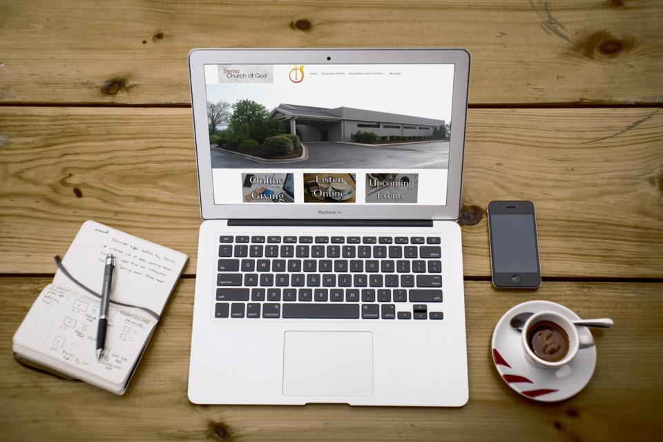 Berea Church of God Website Refresh
